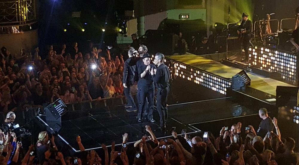 Vor wenigen Monaten stand Robbie Williams wieder mit Take That auf der Bühne. Nur Jason Orange fehlte...