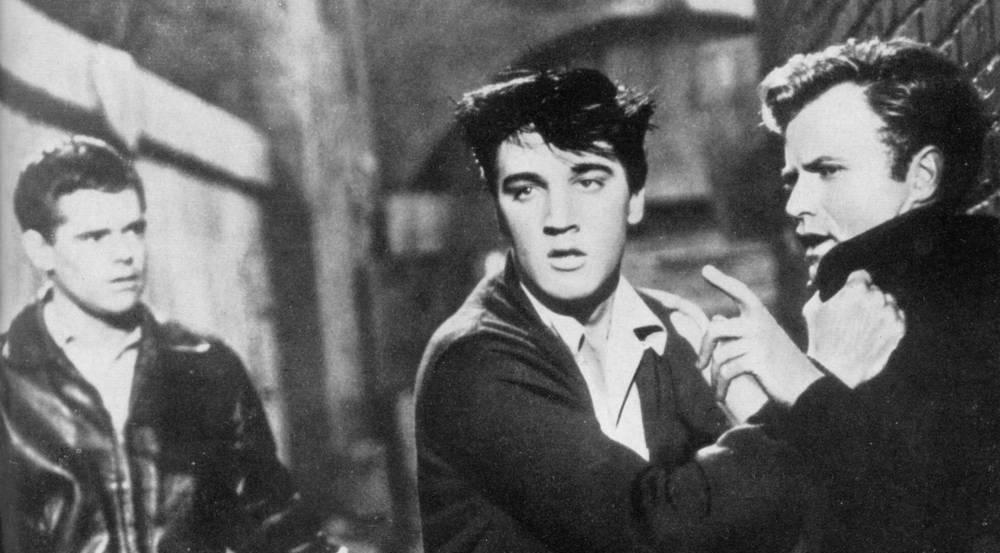 """In """"Mein Leben ist der Rhythmus"""" zeigte Elvis vielversprechendes Talent als Schauspieler"""