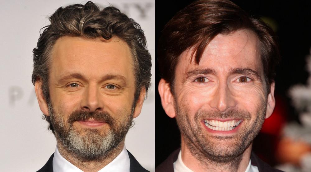 """Michael Sheen (l.) und David Tennant spielen die Hauptrollen in """"Good Omens"""""""
