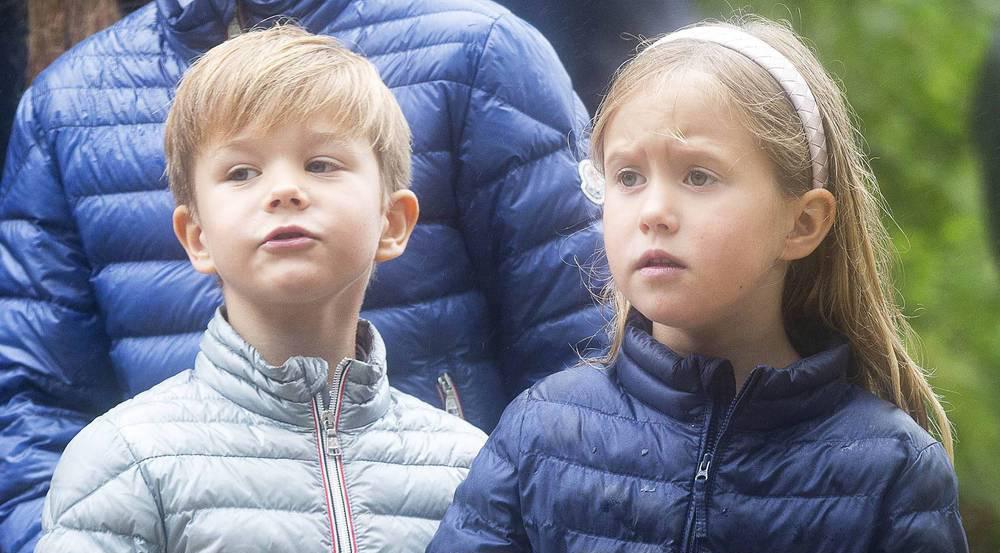 Für Prinz Vincent und Prinzessin Josephine beginnt nun die Schulzeit