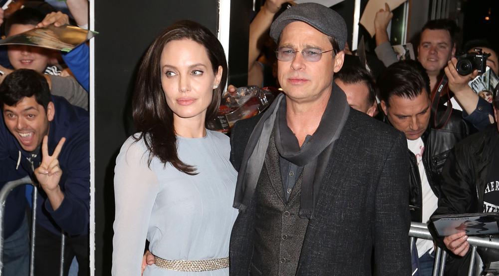 Solche Bilder wird man von Angelina Jolie und Brad Pitt, hier auf einem Event im November 2015, wohl nicht mehr sehen