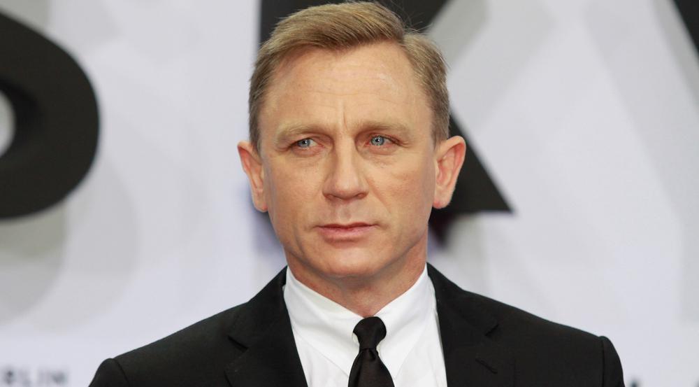 """Glücklich sieht anders aus: Daniel Craig bei der Premiere von """"Skyfall"""" im Jahr 2012"""