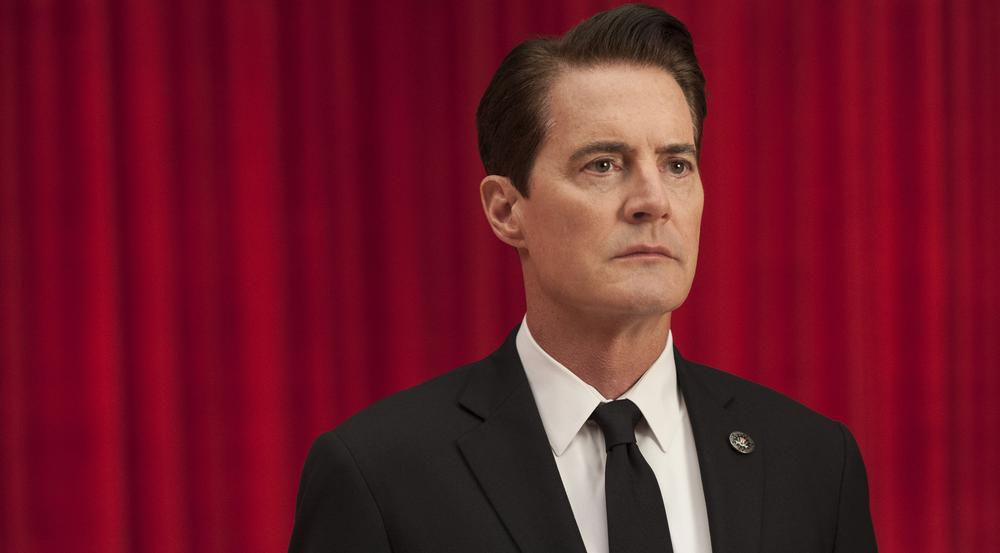 Kyle MacLachlan als Agent Dale Cooper in