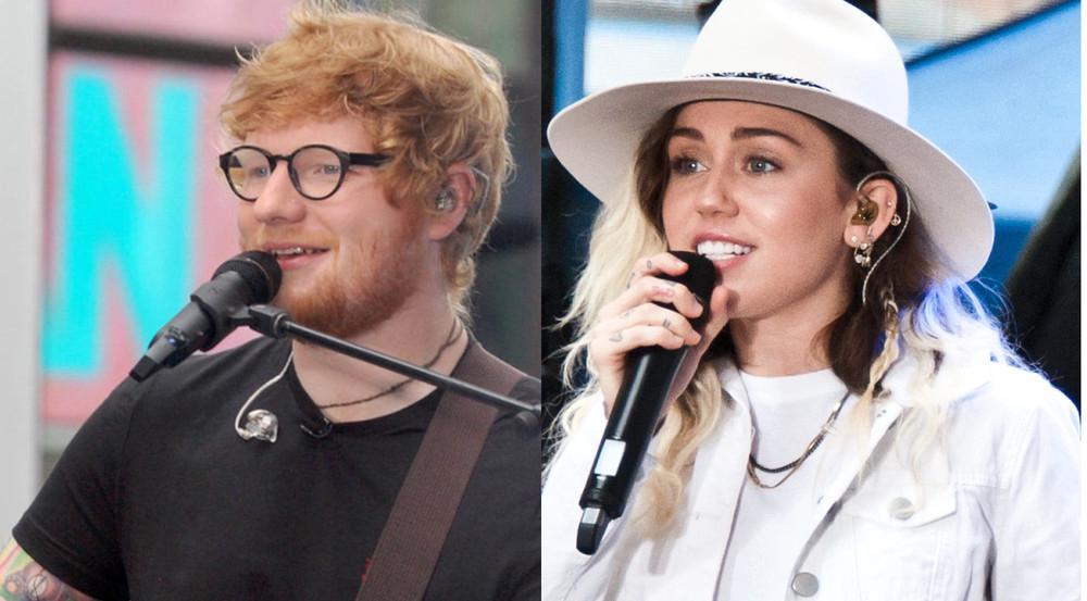 Bei den VMAs werden unter anderem Ed Sheeran und Miley Cyrus auftreten