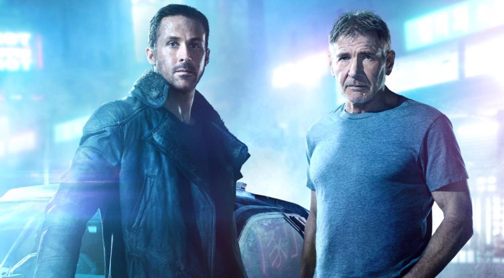 K (Ryan Gosling, l.) und Rick Deckard (Harrison Ford, r.) in