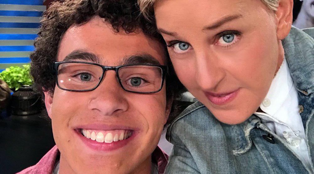 Carter Wilkerson zu Gast in der Talkshow seiner Rivalin Ellen DeGeneres
