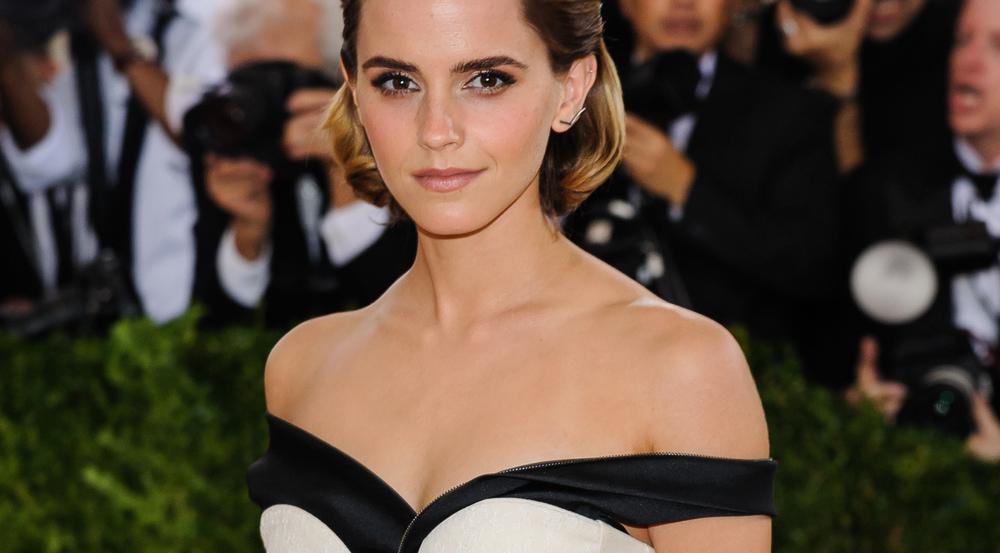 Emma Watson macht sich für nachhaltige Mode stark: Bei der MET Gala 2016 trug sie ein Kleid aus recycleten Plastikflaschen
