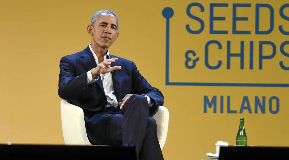 Barack Obama auf der Lebensmittel-Konferenz