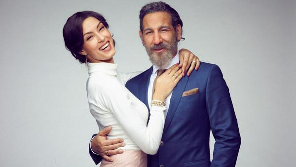 Haben sich gut gehalten: Rebecca Mir und Massimo Sinató