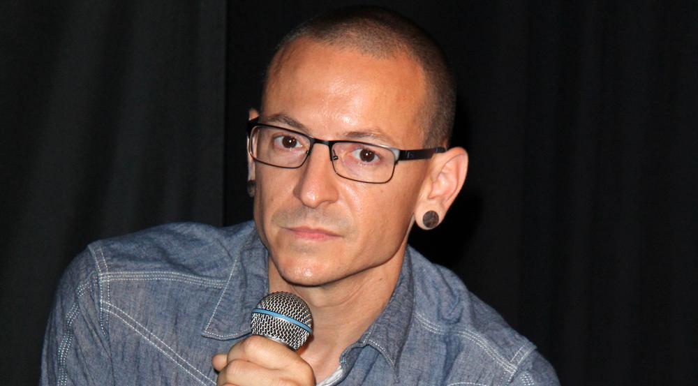 In dieser Woche aus den Charts nicht wegzudenken: Der verstorbene Chester Bennington von Linkin Park