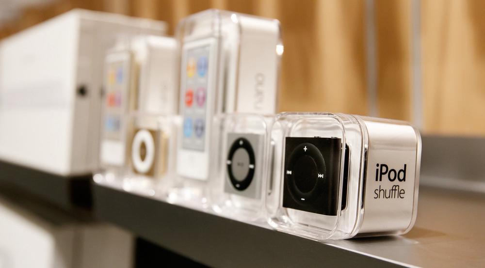 Bald auch von den Regalen verschwunden: die alten iPod-Modelle