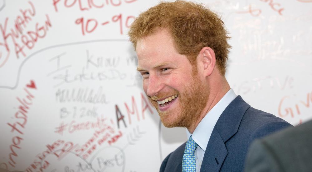 Prinz Harry hat offenbar eine musikalische Ader