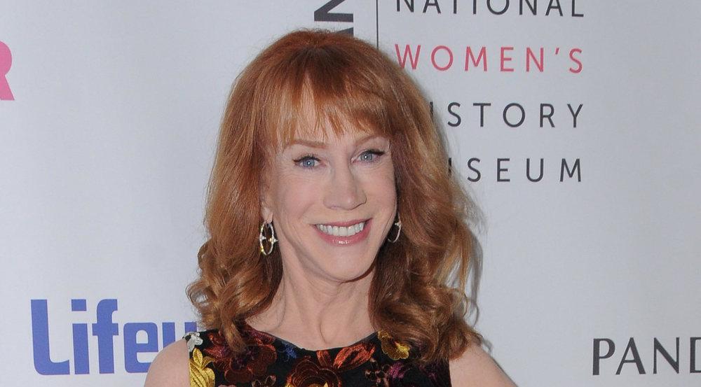 US-Comedian Kathy Griffin hatte wegen eines Scherzes über Donald Trump ganz schön Ärger am Hals