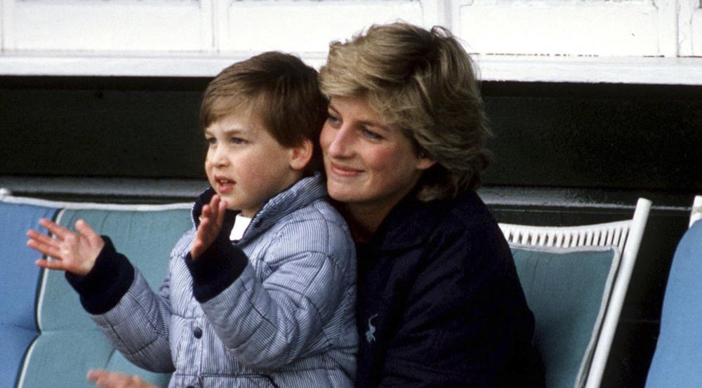 Prinzessin Diana und Prinz William im Jahr 1987. Der heute 35-Jährige spricht in