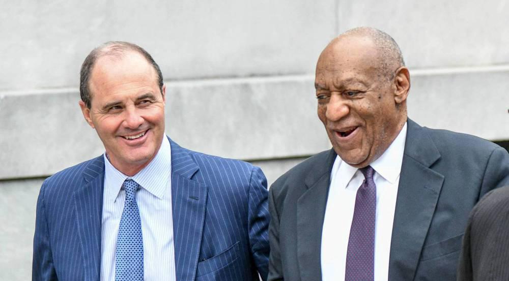 Star-Anwalt Brian McMonagle (l.) will Bill Cosby nicht mehr verteidigen
