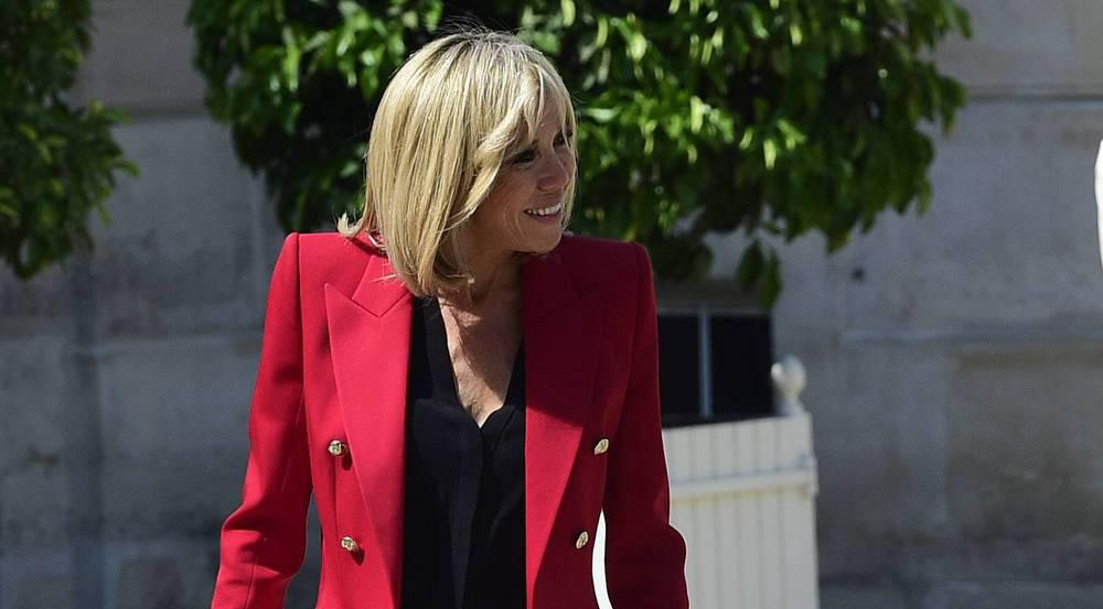 Brigitte Macron kleidet sich stets ladylike