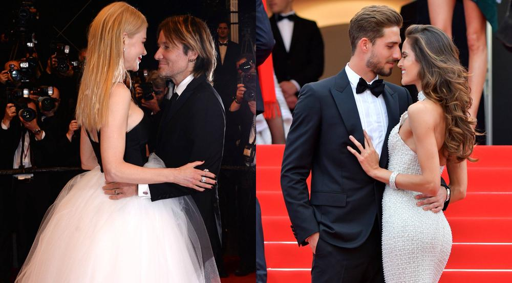 Cannes 2017: Nicole Kidman und Keith Urban (l.) sowie Kevin Trapp und Izabel Goulart