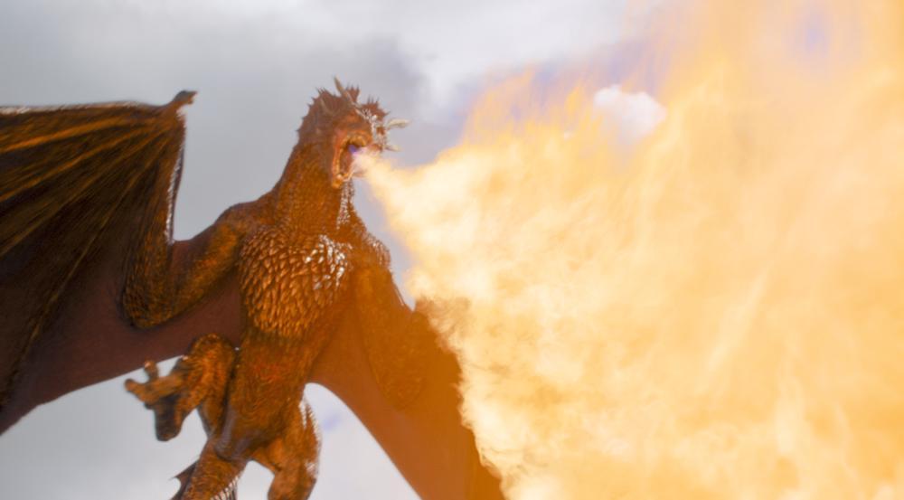 Die Drachen von Daenerys Targaryen ziehen offenbar in den Krieg