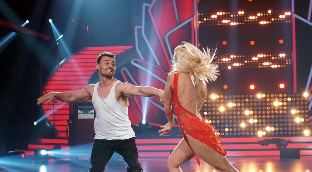 Heinrich Popow und Kathrin Menzinger beim Tanz durchs
