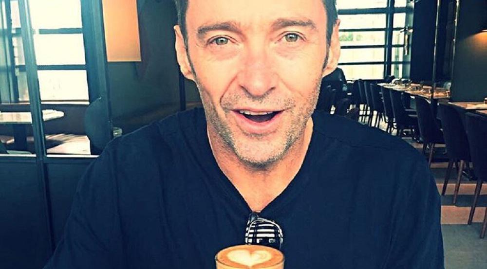 Hugh Jackman ist ein echter Kaffee-Genießer