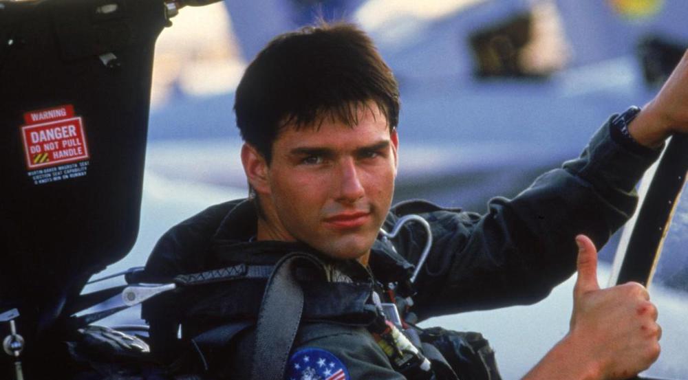 Im echten Leben soll es Tom Cruise im Cockpit ziemlich den Magen umgedreht haben