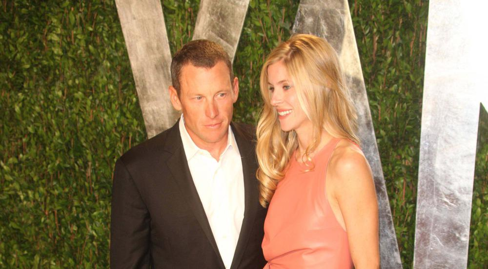 Lance Armstrong ist schon seit 2008 mit seiner Anna zusammen