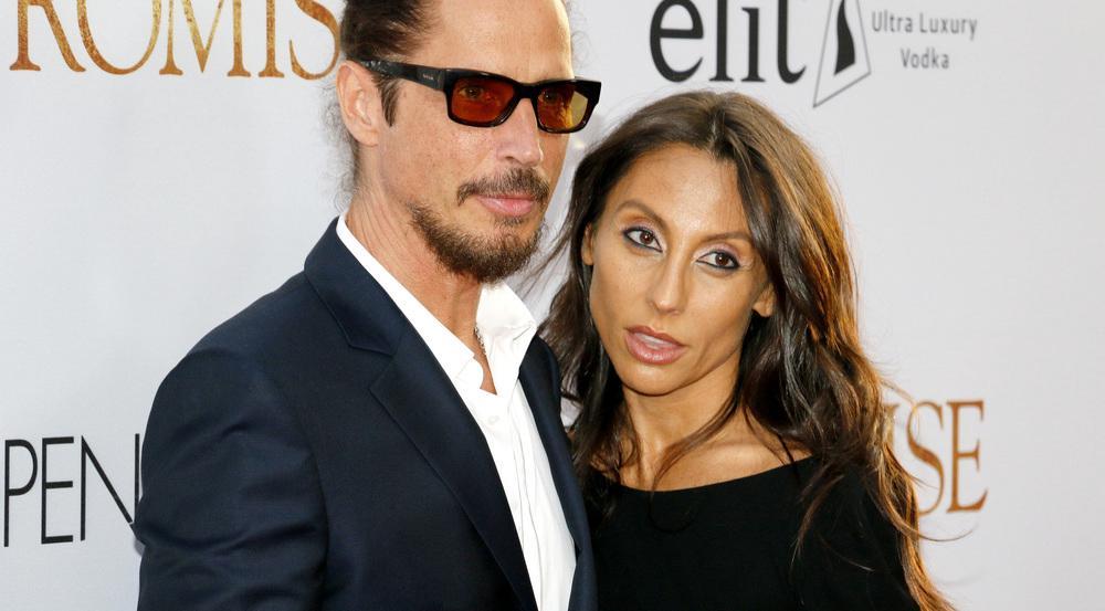 Chris Cornell und Vicky Karayiannis auf einem Event in Los Angeles im April 2017