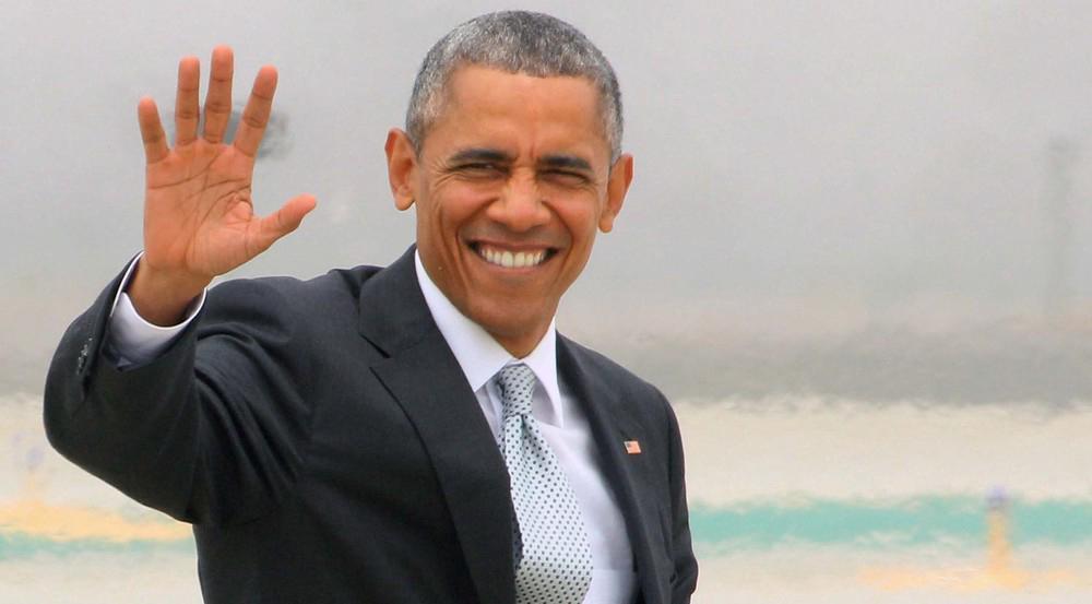 Barack Obama war von 2009 bis Januar 2017 Präsident der USA