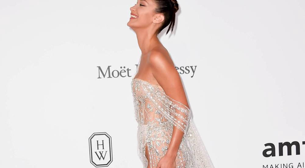 Bella Hadid auf der amfAR-Gala in Cannes