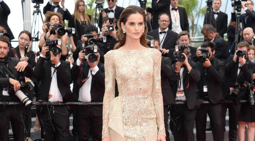Izabel Goulart stellte sich in Cannes dem Blitzlichtgewitter
