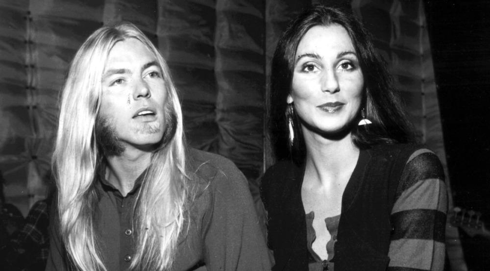 Gregg Allman und Cher in jungen Jahren