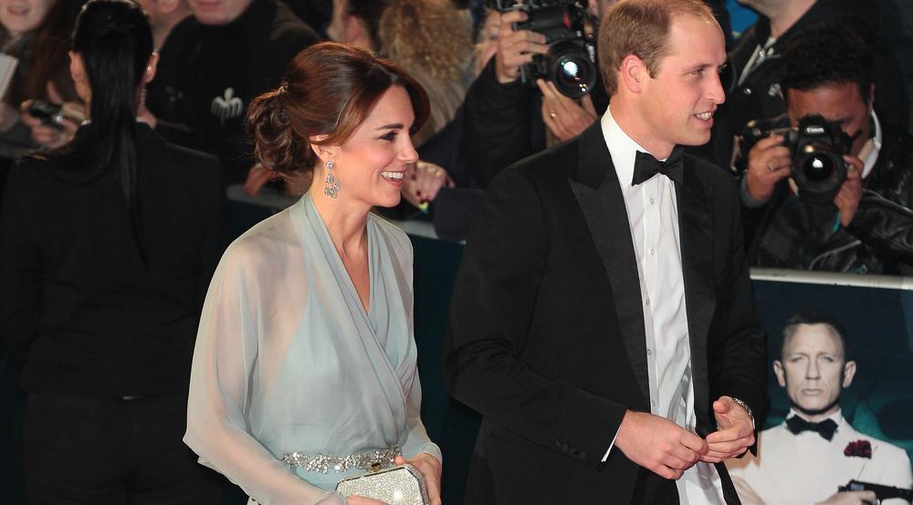 Herzogin Kate und Prinz William bei einem Auftritt in London