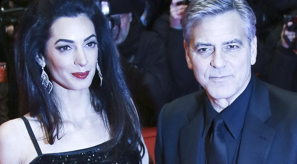 George und Amal Clooney 2016 in Berlin