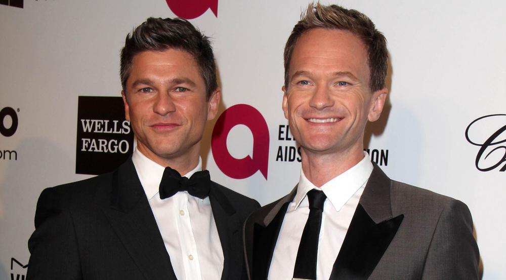 Glücklich, glücklicher, Neil Patrick Harris (r.) und sein Ehemann David Burtka