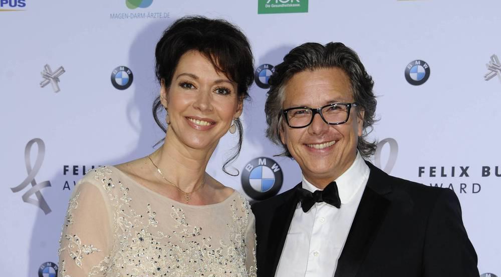 Silvia Laubenbacher mit ihrem Mann Percy Hoven