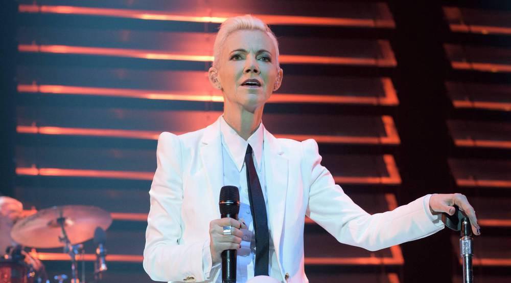 Marie Fredriksson beim Roxette-Konzert im Sommer 2015 in der Münchner Olympiahalle