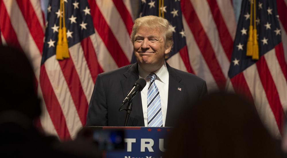 Ist Donald Trump beim Twittern eingeschlafen?