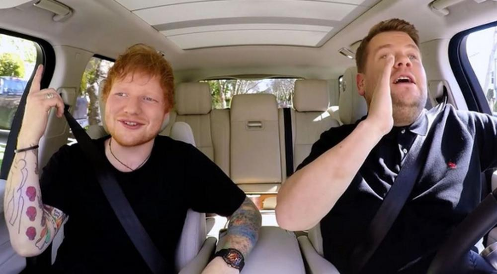 Ed Sheeran gibt bei James Cordens