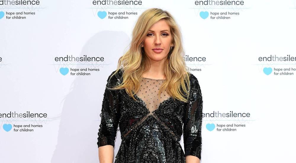 Ein Klassiker mit glitzernden Highlights: Ellie Goulding bei einer Charity-Veranstaltung in London