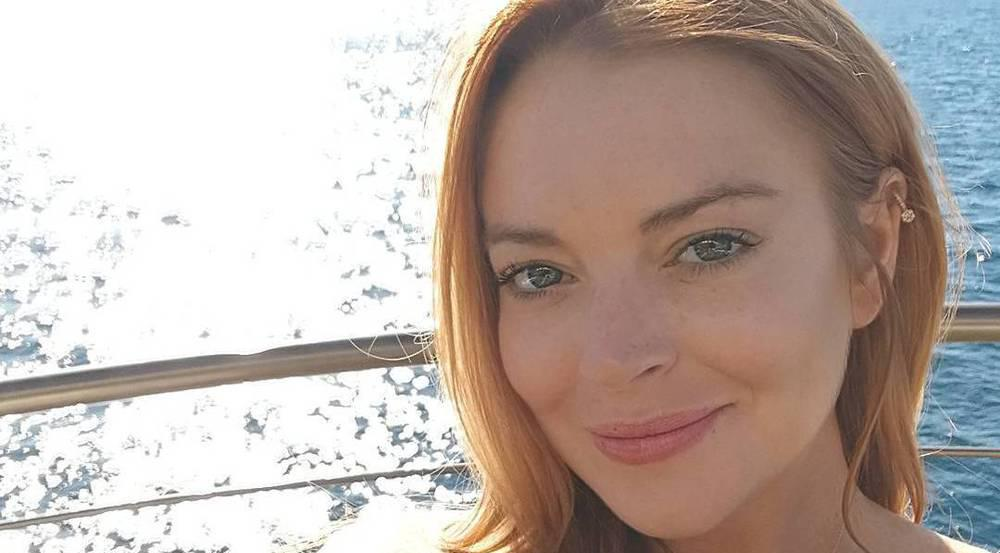 Zeigt Lindsay Lohan hier das erste Teil ihrer Schmuck-Kollektion?