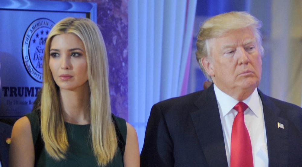 Auch bei Ivanka und Donald Trump dürfte gerade dicke Luft herrschen