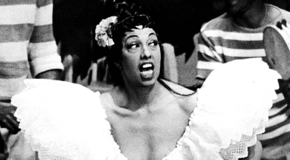 In ihrem Element: US-amerikanisch-französische Tänzerin, Sängerin und Schauspielerin Josephine Baker