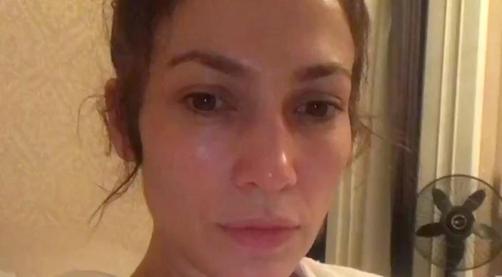 Jennifer Lopez zeigt sich ihren Fans ungeschminkt