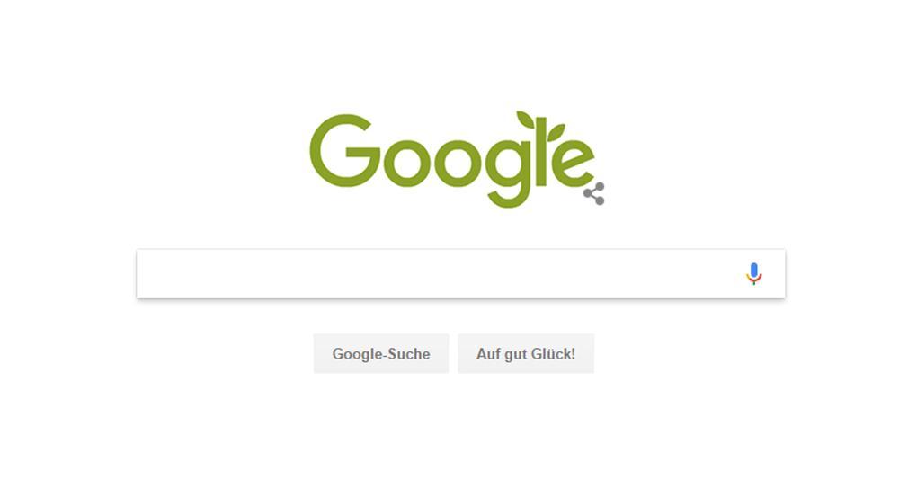 Das Google Doodle zum Weltumwelttag 2017