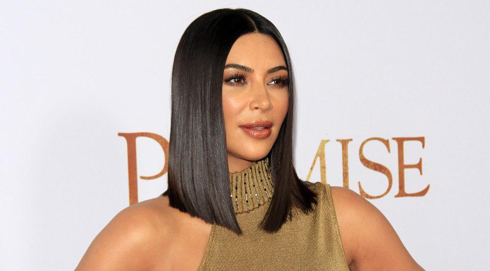 Haare wie Seide: Kim Kardashian mit ultraglänzender Mähne