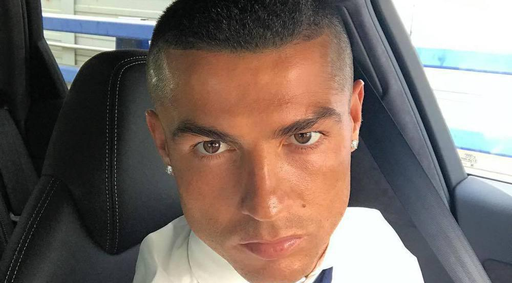 Cristiano Ronaldo präsentiert seine neue Frisur auf Instagram