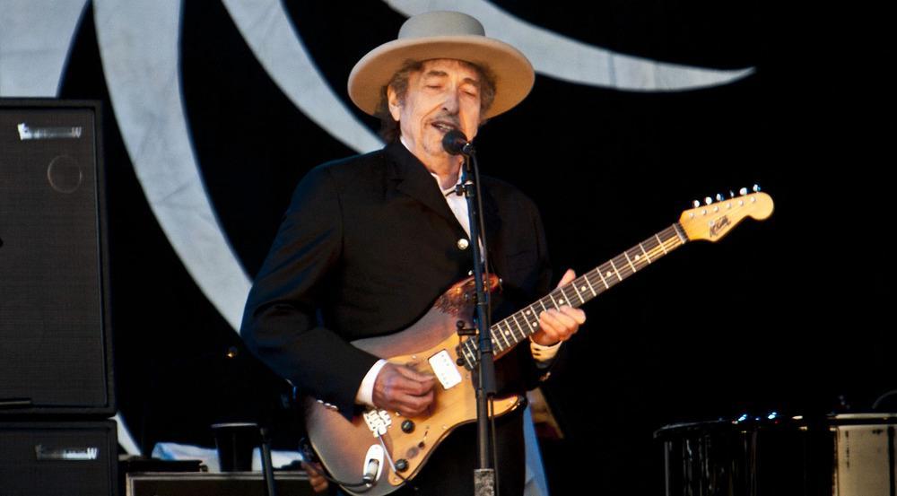 Bob Dylan erhielt 2016 den Literaturnobelpreis