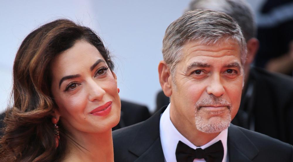 Sind erstmals Eltern geworden: Amal und George Clooney