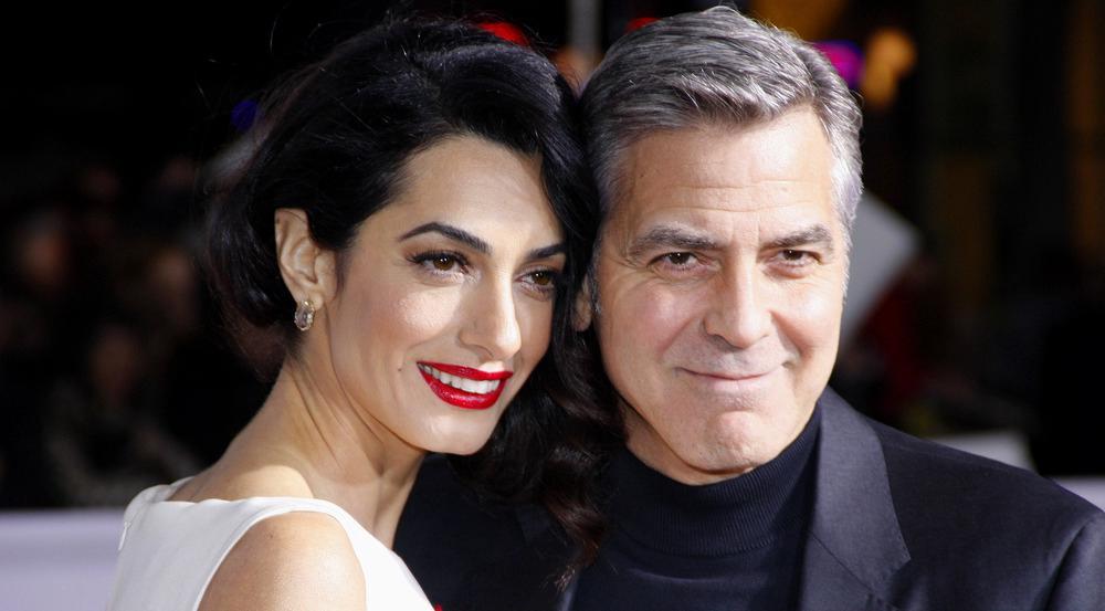 Hollywood gratuliert George und Amal Clooney via Twitter