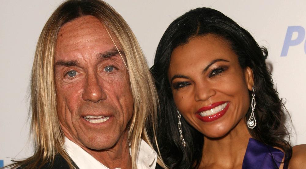 Glücklich verheiratet: Iggy Pop und Nina Alu